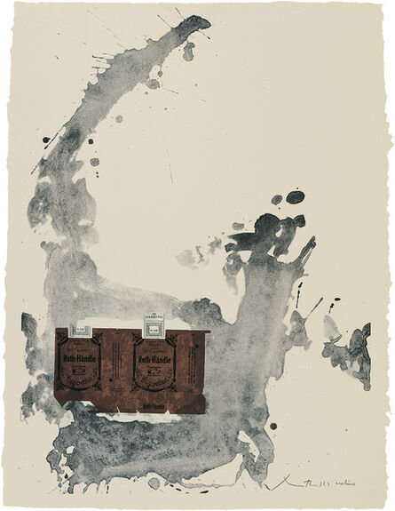 Robert Motherwell, 'Tobacco Roth-Handle ', 1975