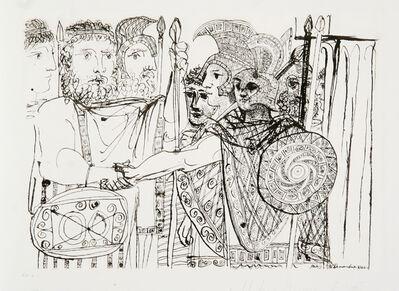 Pablo Picasso, 'Composition', 1973-originally 1933