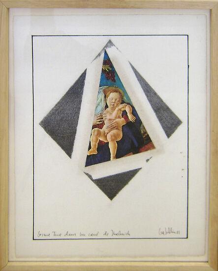 Lea Lublin, 'Cosimo Tura dans le carré de Malévitch', 1981