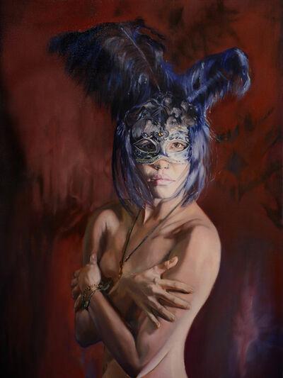Mertim Gokalp, 'The girl with mask', 2013-2014