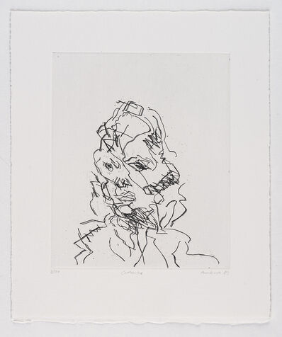 Frank Auerbach, 'Catherine', 1989