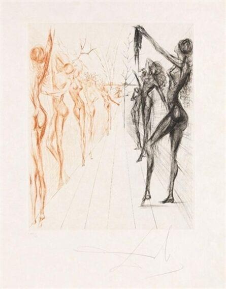 Salvador Dalí, 'Corridor de Katmandou', 1969/70