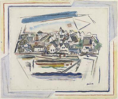 John Marin (1870-1953), 'Stonington, Maine', 1923