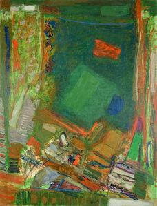 Chafic Abboud, 'Le chant du tapis', 1974
