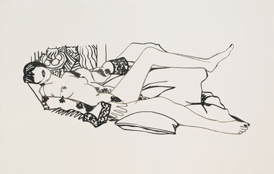 Tom Wesselmann, 'Monica Nude and the Purple Robe', 1990