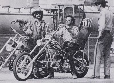 Russell Young, 'Easy Rider (Black + White) BVII2011', 2011