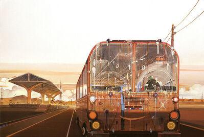 Arx Lee (Li Chaoxiong), 'Sunset Bus', 2013