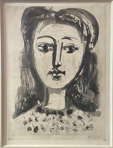 Pablo Picasso, 'Tête Femme', 1947