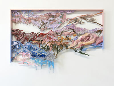 Wang Ziling, 'Half of the blossoms', 2020