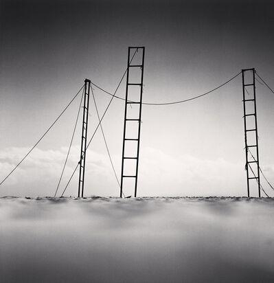 Michael Kenna, 'Three Ladders, Sampo Beach, Gangwondo, Korea', 2006