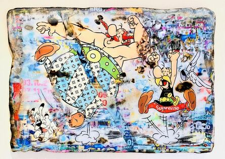 Adriano Cuencas, 'Life is Fun (Asterix and Obelix)', 2020