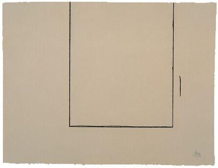 Robert Motherwell, 'Beige Open', 1981