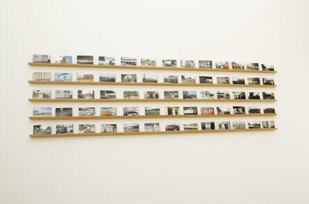 Rivane Neuenschwander, 'Mapa Múndi/BR (Postal)', 2007