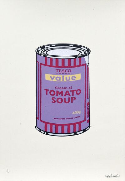 Banksy, 'Soup Cans. Violet Cherry Beige', 2005