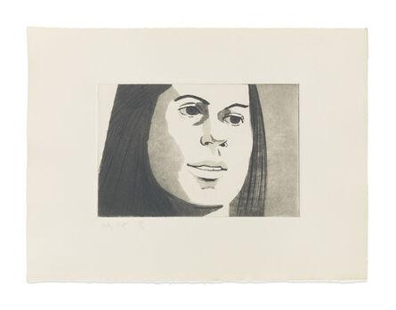 Alex Katz, 'June Ekman's Class: Nancy', 1972