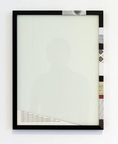 Matthias Bitzer, 'Der Zerfall der Eigenschaften / Collapse of Features'