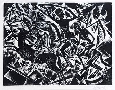 Georg Alexander Mathéy, 'Die Apokalyptischen Reiter (the Four Horsemen of the Apocalypse)', 1921