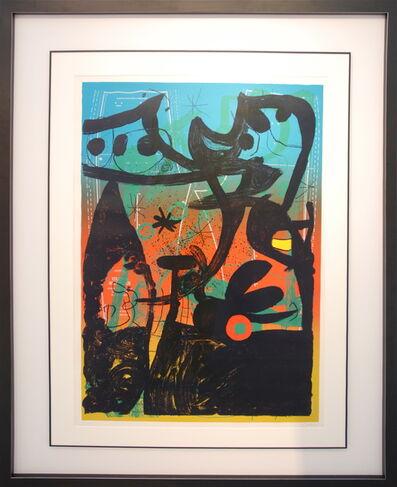 Joan Miró, 'Défilé de mannequin à Bahia', 1969