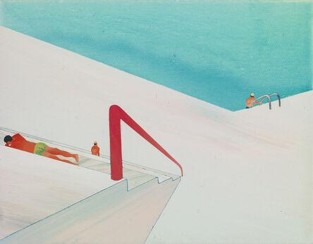 Yang-Tsung Fan, 'Swimming pool series- go ashore', 2013