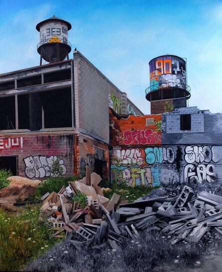 "Jessica Hess, '""Detroit V""', 2015"