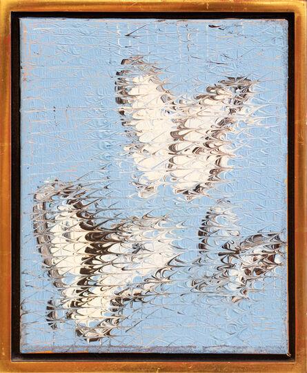 Hunt Slonem, 'Cabbage Butterflies', 2000