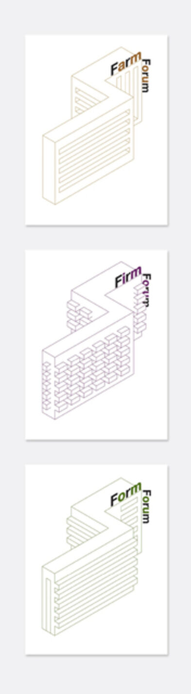Liam Gillick, 'Farm Form Firm Forum', 2014