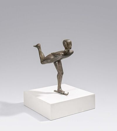 Henk Visch, 'Mixed Lot of one Sculpture and a Drawing'