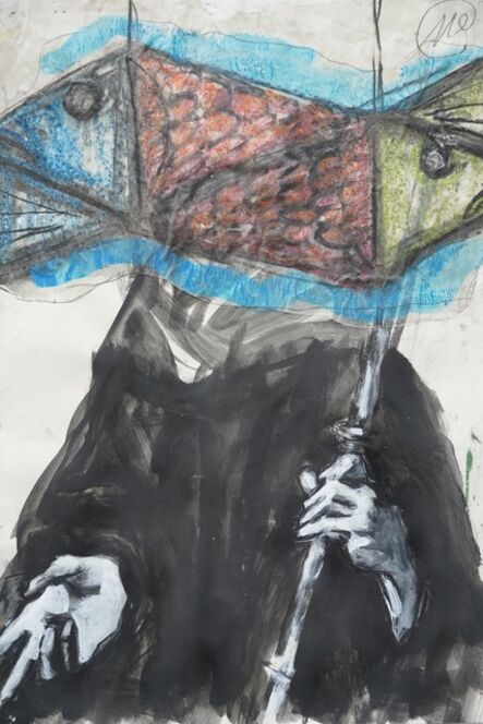 Markus Lüpertz, 'Ohne Titel - St Ulrich', 2021