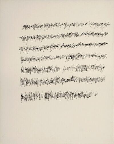 Mirtha Dermisache, 'Imagen 9 (lectura vertical, grafismo tipo firma), s.d.', ca. ca. 1970