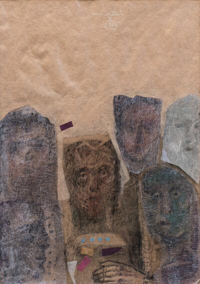 Edwar Shahda, ' Face 8', 2015