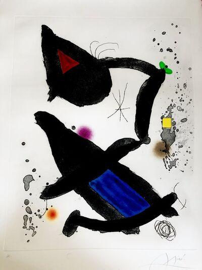 Joan Miró, 'King David', 1972
