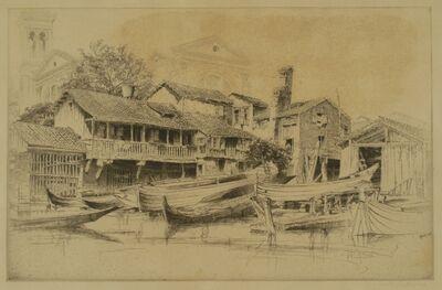 John Taylor Arms, 'San Trovaso, Venice', 1930