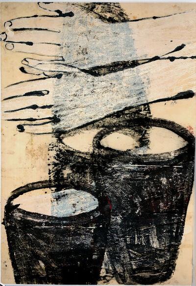 Ulrike Michaelis, 'Eimer und Hände (bucket and hands)', 1997