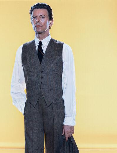 Markus Klinko, 'Bowie GQ 4/50', 2002