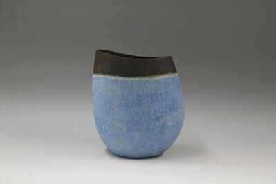 Mitsukuni Misaki, 'Henko pot decorated with slips', 2016