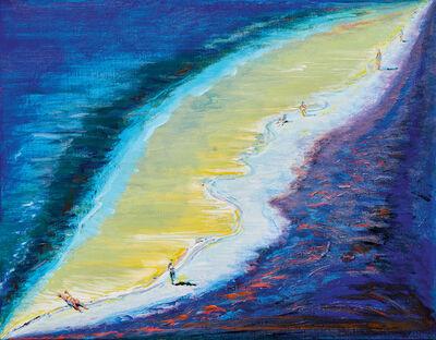 Wayne Thiebaud, 'Dark Beach', 2003/2020