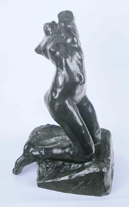 Auguste Rodin, 'Female Torso, Kneeling, Twisting Nude', unknown-cast 1984