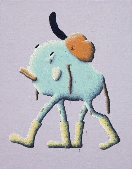 Joakim Ojanen, 'Blue Dog Yellow Shoes', 2017