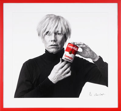 Andrew Unangst, 'Archival 'Andy Warhol with Red Campbell's Soup' ', 2020