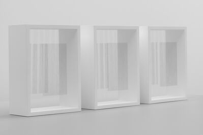 Hadi Tabatabai, 'Triptych: One white rose to another one', 2019