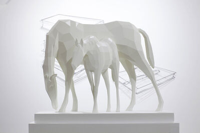 Seon-Ghi Bahk, 'Point of view - horse 20170205', 2017