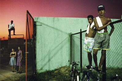 Alex Webb, 'Baseball fans. Sancti Spiritus. Cuba. ', 1993