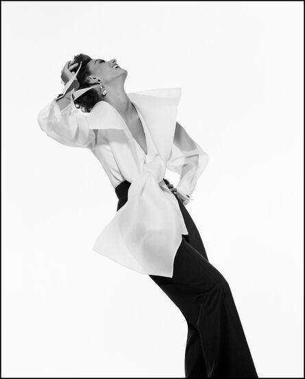 Gianpaolo Barbieri, 'Gianfranco Ferre advert, Model: Aly Dunne', 1991