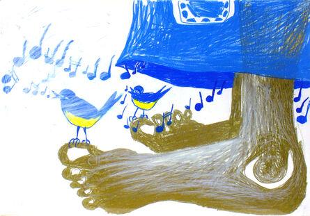 Bendix Harms, 'Blue Division', 2009