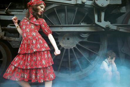 Jim Lee, 'Steam Train', 1970