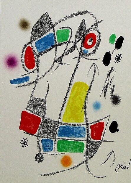 Joan Miró, 'Maravillas con variaciones acrósticas en el jardín de Miró I', 1975
