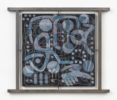 Andrew Lyght, 'Industrial Painting / Sheathing 0616JC', 1993-1994