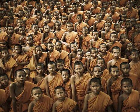 Jimmy Nelson, 'Buddhist Monks', 2011
