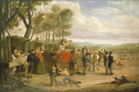 Charles Henry Granger, 'Muster Day', 1843 or after