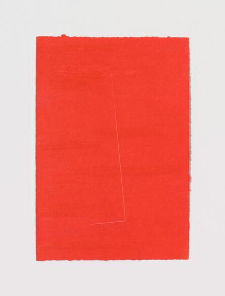 Stephen Antonakos, 'Untitled Cut, AP#2', 1977